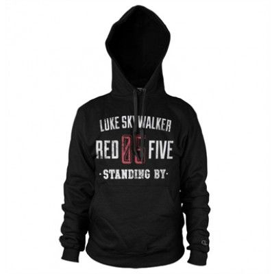 Red 5 Standing By Hoodie , Hooded Pullover