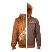 Star Wars Chewbacca Vändbar Hoodie - Small