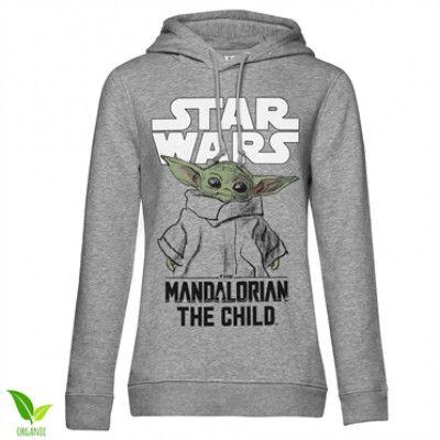 Star Wars - Mandalorian Child Girls Hoodie, Girls Organic Hoodie