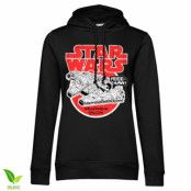 Star Wars - Millennium Falcon Girls Hoodie, Girls Organic Hoodie
