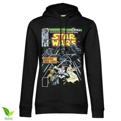 Star Wars - Shadow Of A Dark Lord Girls Hoodie, Girls Organic Hoodie