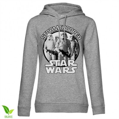 Star Wars - Stormtrooper Girls Hoodie, Girls Organic Hoodie
