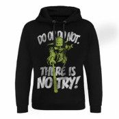Star Wars - There Is No Try - Yoda Epic Hoodie, Epic Hooded Pullover