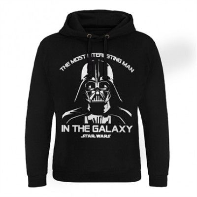The Most Interesting Man In The Galaxy Epic Hoodie, Epic Hooded Pullover