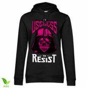Vader - Useless To Resist Girls Hoodie, Girls Organic Hoodie