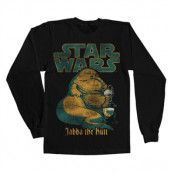 Jabba The Hutt Long Sleeve Tee, Long Sleeve T-Shirt