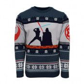 Jultröja Star Wars Luke Vs Darth, LARGE