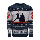 Jultröja Star Wars Luke Vs Darth, XXL