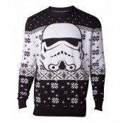 Jultröja Star Wars Stormtrooper Head, SMALL