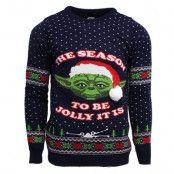 Jultröja Star Wars Yoda, LARGE