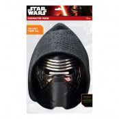Star Wars Kylo Ren Pappmask - One size