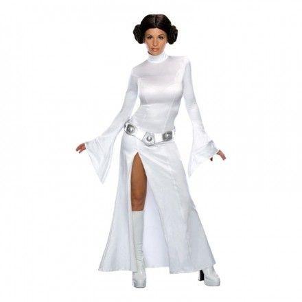 Sexig Prinsessan Leia Maskeraddräkt - Star Wars-butiken 96a5988e35f07