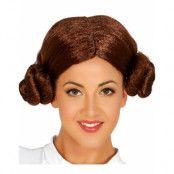 Star Wars Prinsessan Leia Inspirerad Peruk