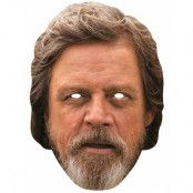 Licensierad Star Wars Luke Skywalker Pappmask