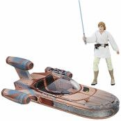 Star Wars Black Series - Luke Skywalker's X-34 Landspeeder - SKADAD FÖRPACKNING