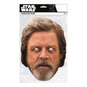 Star Wars Luke Skylwalker Pappmask - One size