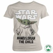 Star Wars - Mandalorian Child Organic Girly T-Shirt, 100% Organic Girly T-Shirt