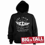 The Force Is Strong With This Little One Big & Tall Hoodie, Big & Tall Hoodie Pullover