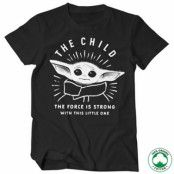 The Force Is Strong With This Little One Organic T-Shirt, 100% Organic T-Shirt