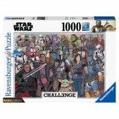 The Mandalorian, Pussel - Challenge - 1000 bitar