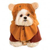 Star Wars Ewok Hund Maskeraddräkt - X-Large
