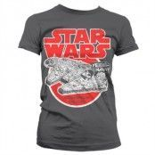 Millennium Falcon Girly T-Shirt, Girly T-Shirt