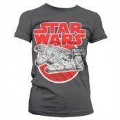Millennium Falcon Girly T-Shirt, Girly T-Shirt