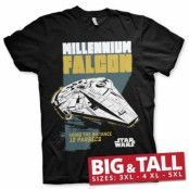 Millennium Falcon - Going The Distance Big & Tall T-Shirt, Big & Tall T-Shirt