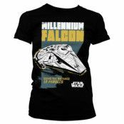 Millennium Falcon - Going The Distance Girly Tee, Girly Tee
