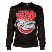 Millennium Falcon Long Sleeve T-Shirt, Long Sleeve T-Shirt