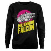 Millennium Falcon Retro Girly Sweatshirt, Sweatshirt