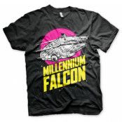 Millennium Falcon Retro T-Shirt, Basic Tee