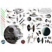 Star Wars Farkoster Klistermärken