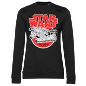 Star Wars - Millennium Falcon Girly Sweatshirt, Girly Sweatshirt