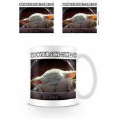 Star Wars Baby Yoda Mugg Meme