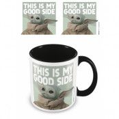 Star Wars Baby Yoda Mugg This Is My Good Side