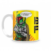 Star Wars - Boba Fett Coffee Mug, Coffee Mug