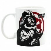Star wars - Darth Vader Join us mugg