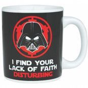 Star Wars - Darth Vader Lack of Faith Mug