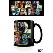Star Wars - Logo Characters Heat Change Mug