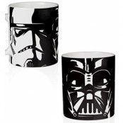 Star Wars - Stormtrooper & Vader Mug