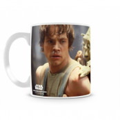 Yoda & Skywalker Coffee Mug, Coffee Mug