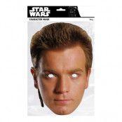 Star Wars Obi-Wan Kenobi Pappmask - One size
