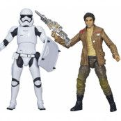 Star Wars Black Series - Poe Dameron & Stormtrooper
