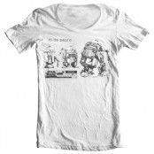 R2D2 Blueprint Wide Neck tee, Wide Neck T-Shirt