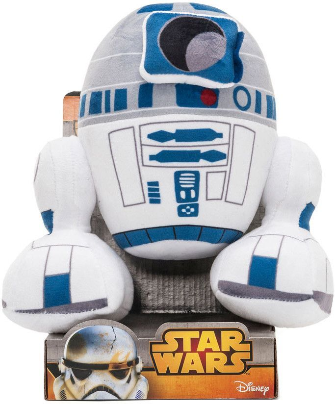 and R2-D9 R2-Q5 Officially-licensed Star Wars Bouquet Plush Gift Droids R2-D2