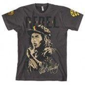 Bob Marley - Rebel Music T-Shirt, Basic Tee