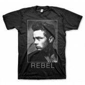 James Dean BW Rebel T-Shirt, Basic Tee