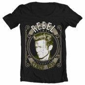 James Dean - Rebel Since 1931 Wide Neck Tee, Wide Neck Tee