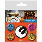 Star Wars - Pins 5-Pack Rebels